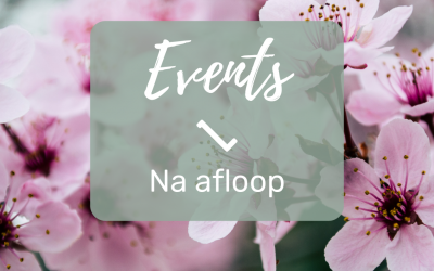 NA HET EVENEMENT || Tijd om te evalueren