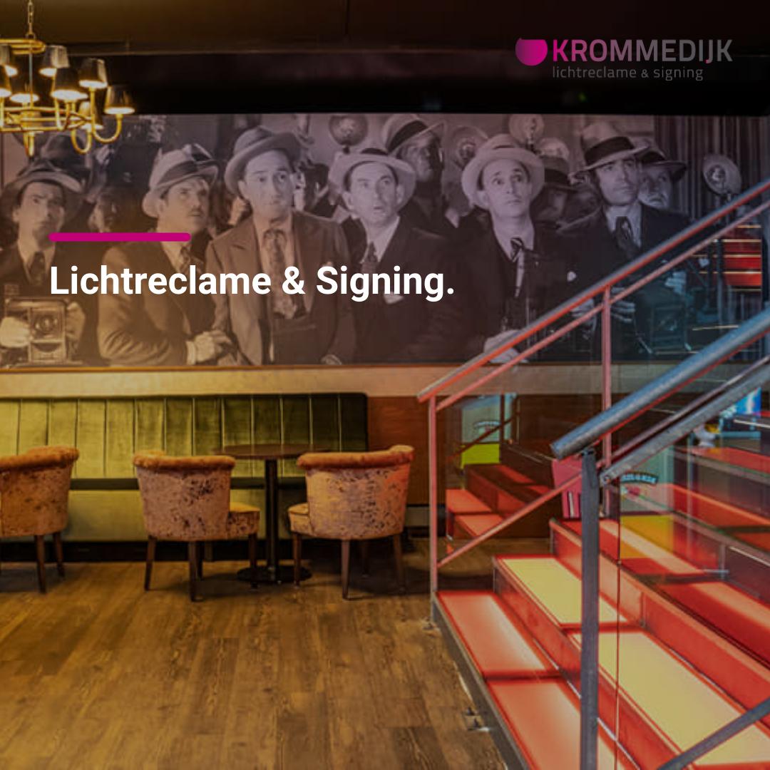 Social media beheer uitbesteden – Krommedijk Lichtreclame & Signing